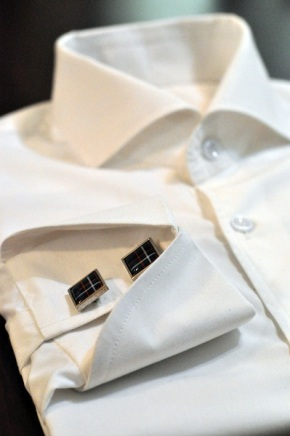 Men's Dress Shirt with Double CUfflinks